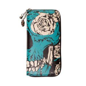 Blue Skull Wallet