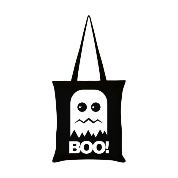 Boo Ghost Tote Bag Front