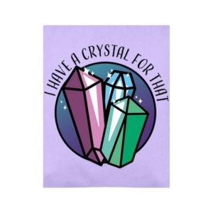 Crystal For That Tote Bag