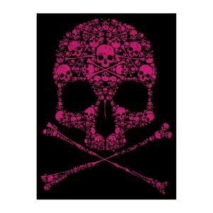 Drip Skull Tote Bag