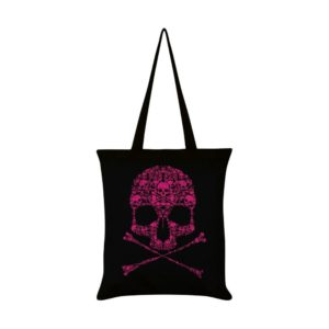 Drip Skull Tote Bag Front