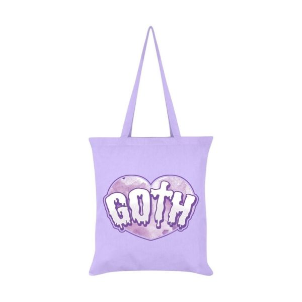 Gothic Heart Tote Bag
