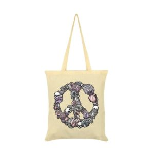 Gothic Peace Tote Bag