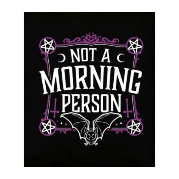 Not a Morning Person Tote Bag 2