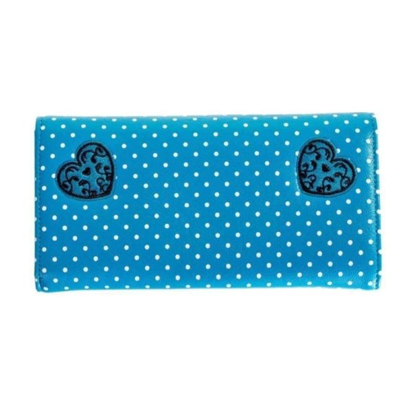 Now or Never Wallet Blue Back