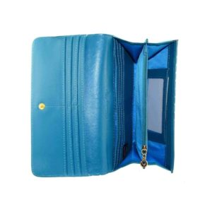 Now or Never Wallet Blue Inside