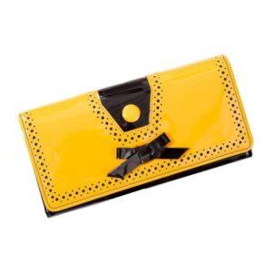 Rosemarys Wallet Mustard Front