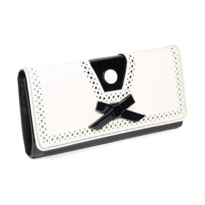 Rosemarys Wallet White Front