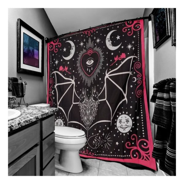 All Seeing Eye Shower Curtain 1