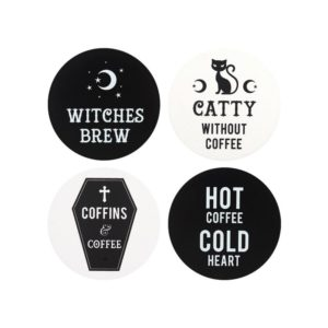Black Magic Witchy Coasters