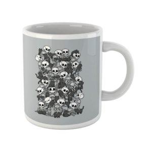 Cat Skull Party Mug