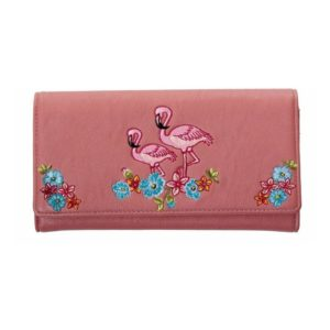 Flamingo Wallet Front