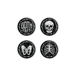 Goth AF Badge Set