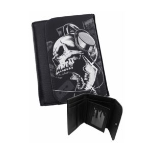 Headphone Skull Wallet