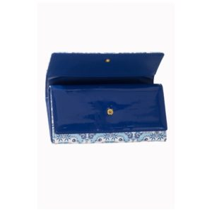 Iva Wallet Blue rotated