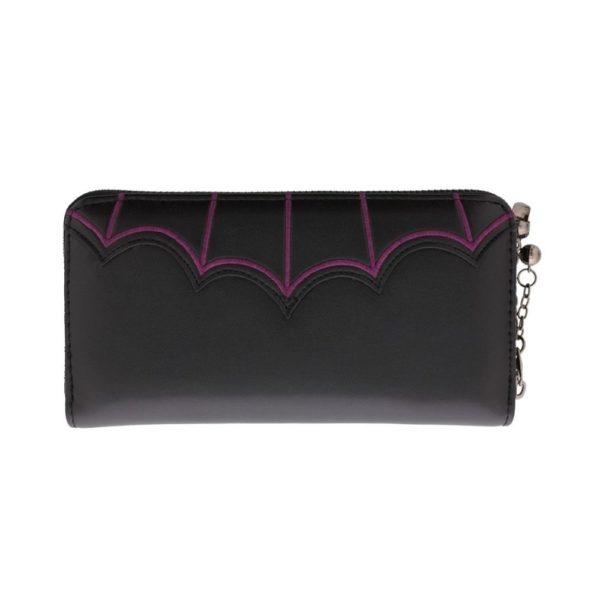 Salem Bats Purple Wallet 1