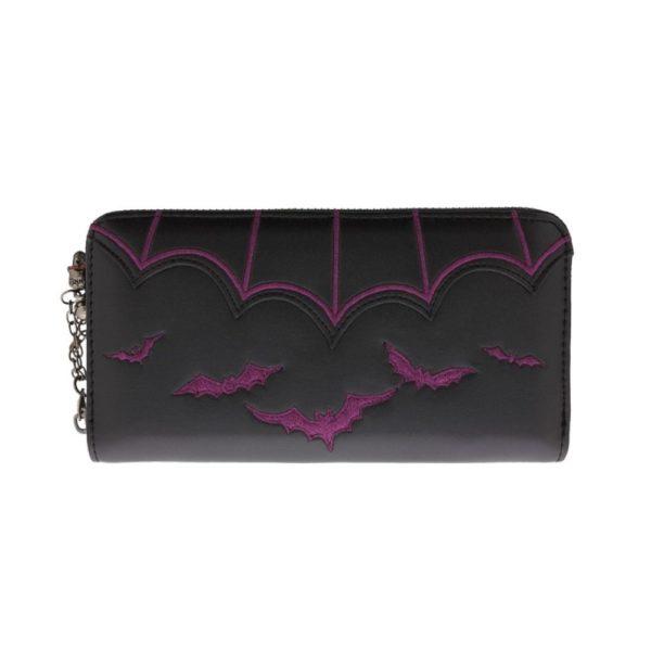 Salem Bats Purple Wallet