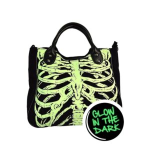 Skeleton Glow in the Dark Handbag