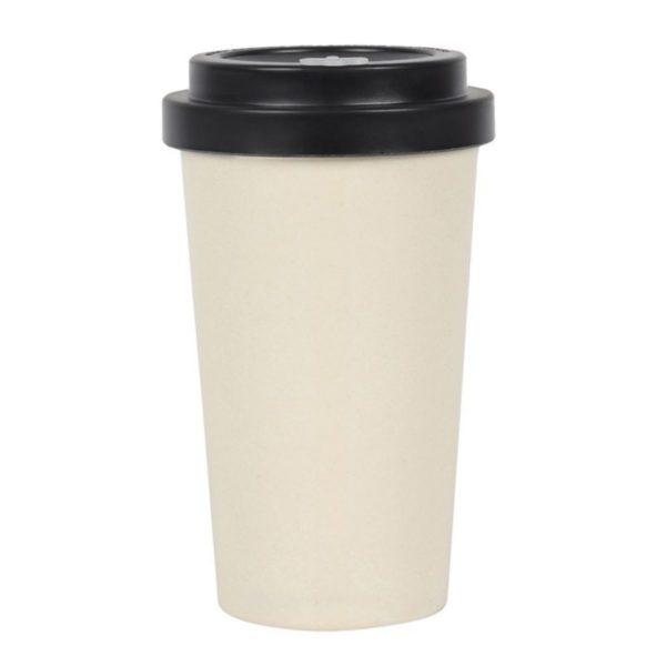 Not a Morning Person Bamboo Travel Mug 2
