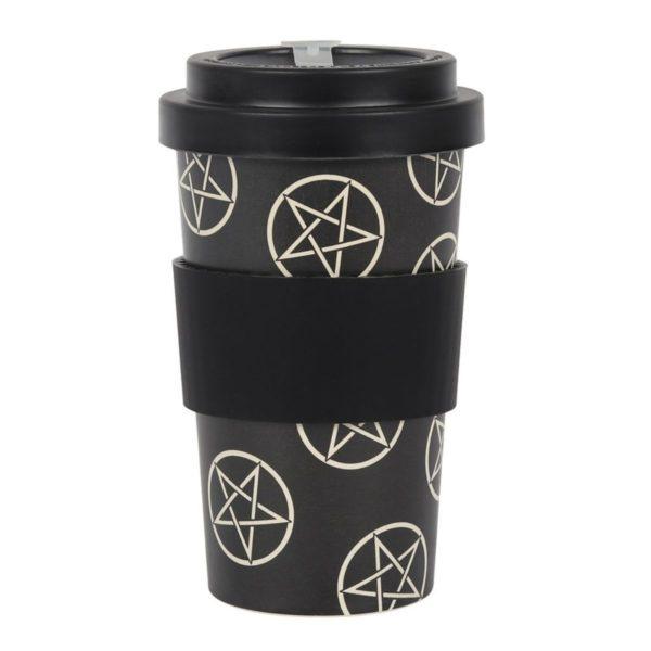 Pentagram Bamboo Travel Mug 3