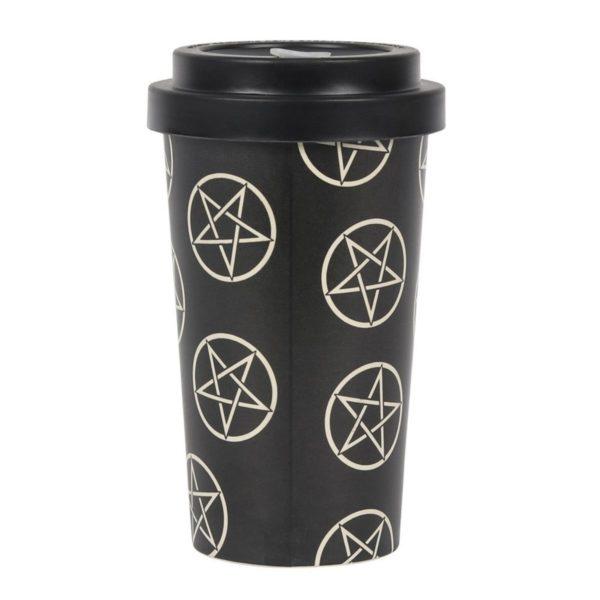 Pentagram Bamboo Travel Mug 4